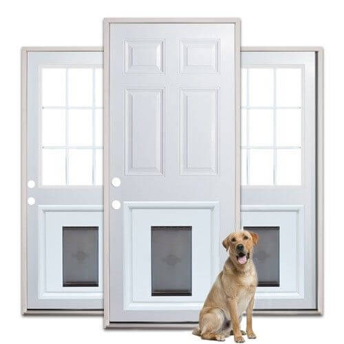 Fitting of the Pet Door Frame