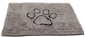 Dog Gone Smart Large Dirty Dog Paw Cleaning Mat