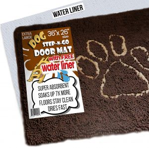 iPrimio Super Absorbent Micro Fiber Door Mat for Dogs