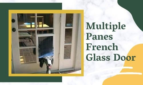 Multiple Panes French Glass Door